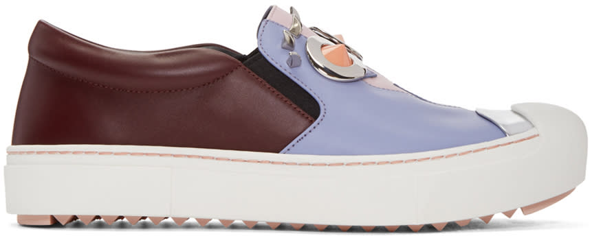 Fendi Multicolor fendi Faces Slip-on Sneakers