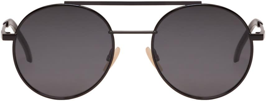 Fendi Black High Bridge Sunglasses