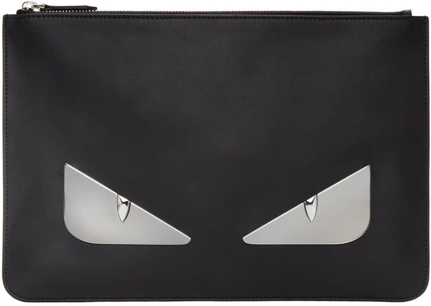 Fendi Black Bag Bug Pouch