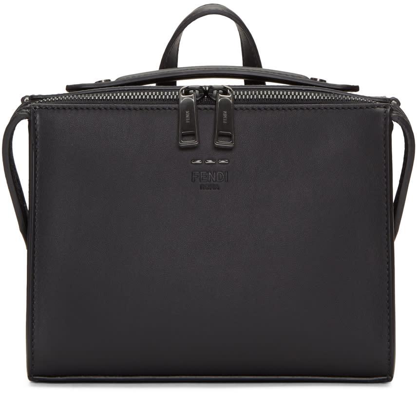 Fendi Black Mini Messenger Bag