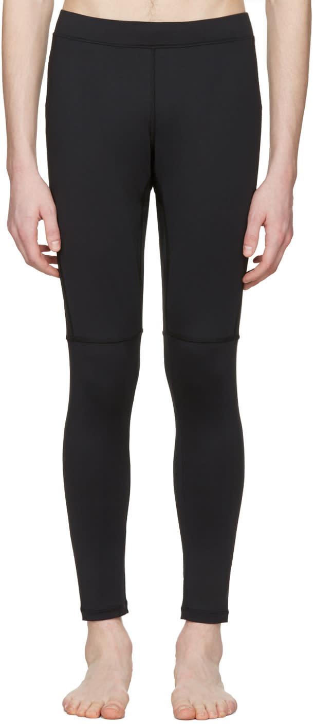 Fendi Black Running Leggings