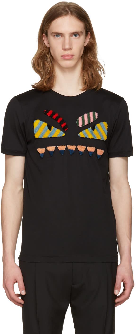 Fendi Black bag Bug T-shirt