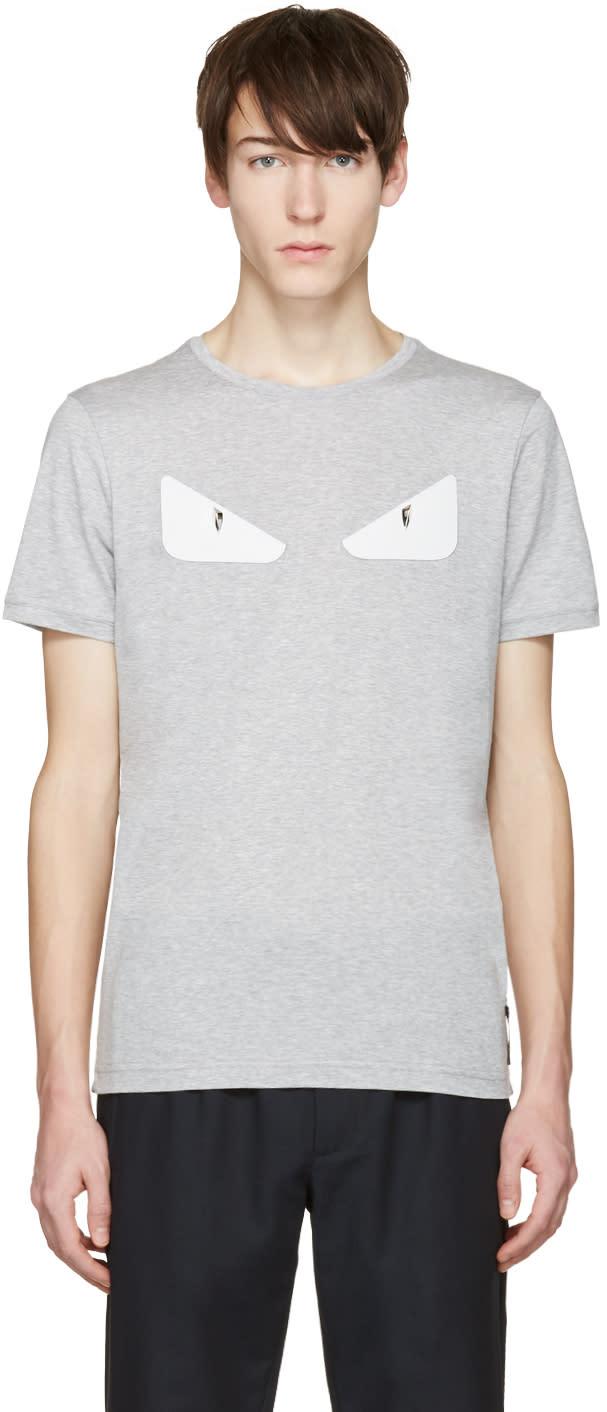 Fendi Grey bag Bug Basic T-shirt