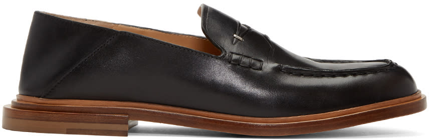 Fendi Black Convertible Loafers