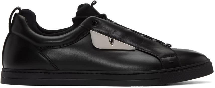 Fendi Black Monster Sneakers