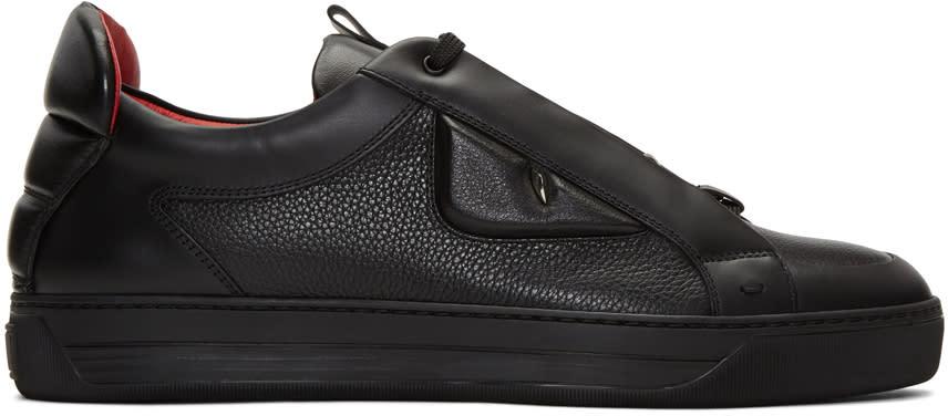 Fendi Black Bag Bug Sneakers
