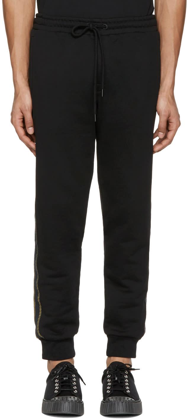 Palm Angels Black Trimmed Lounge Pants