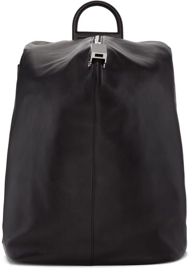 Wooyoungmi Black Structure Backpack