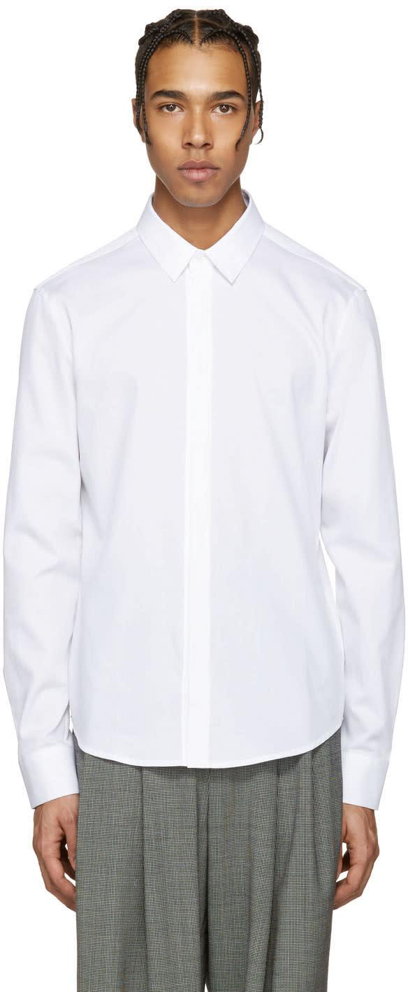 Wooyoungmi White Cotton Shirt