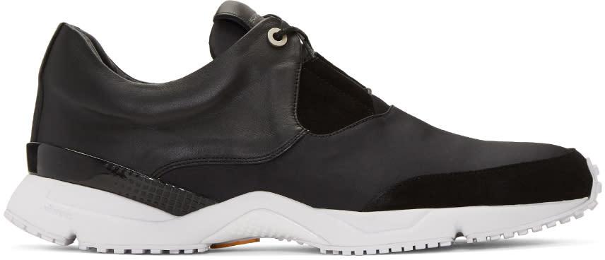 Wooyoungmi Black Runner Sneakers