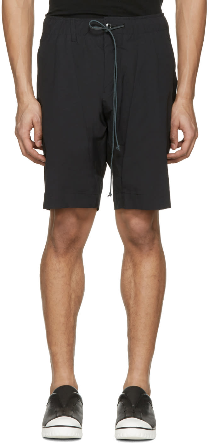 Image of Attachment Black Slim Shorts