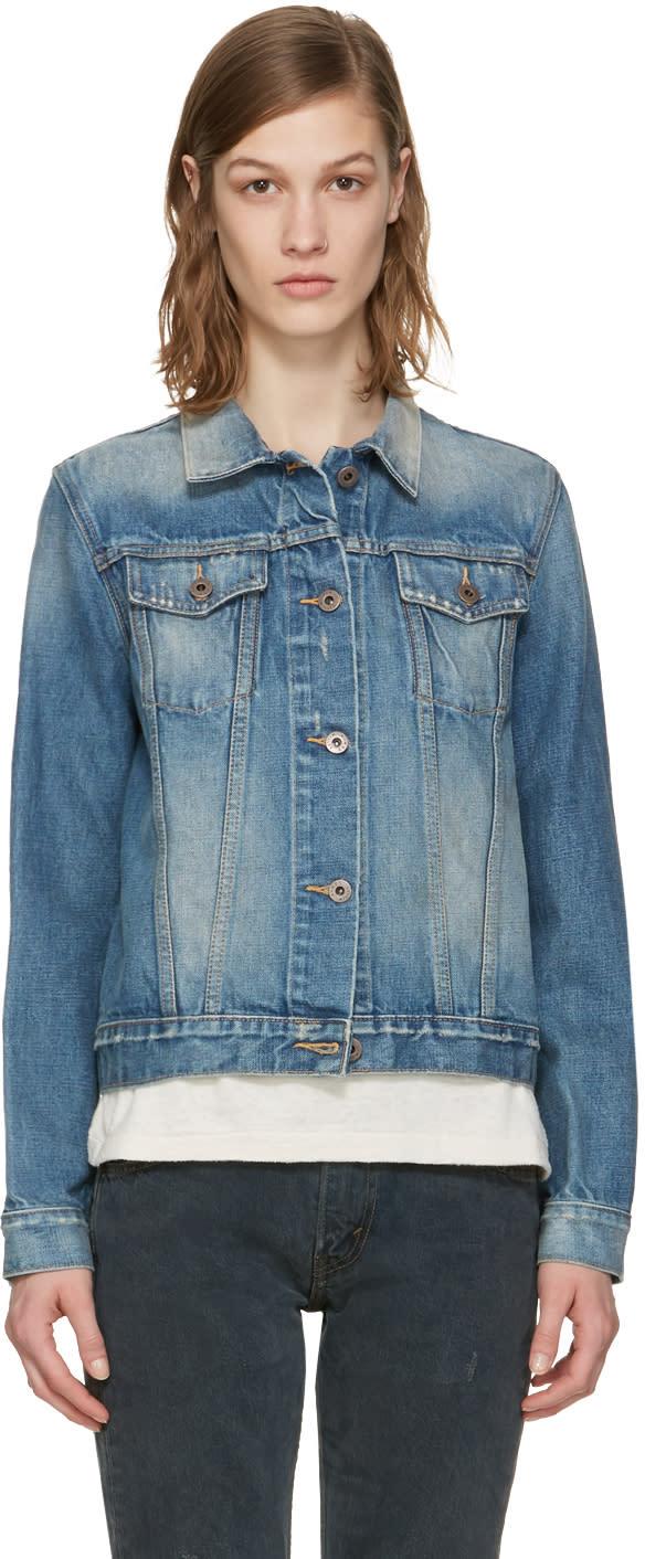 Simon Miller Indigo Denim Keyes Jacket