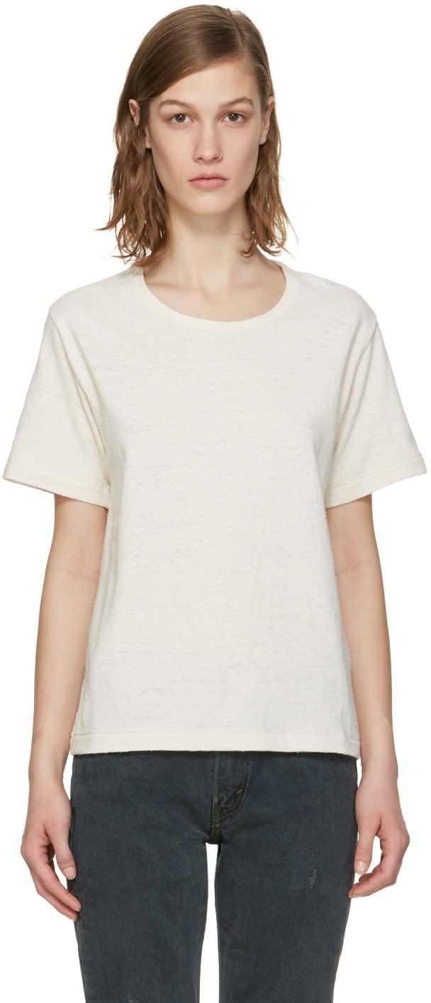 Simon Miller Ecru Hardin T-shirt