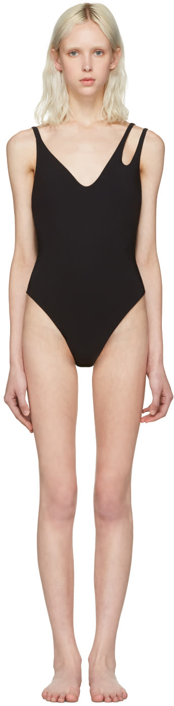 Image of Araks Black Jamie One-piece Suit