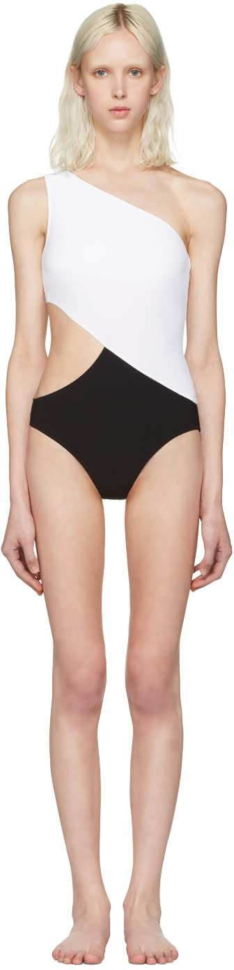 Image of Araks Black and White Elmar Swimsuit