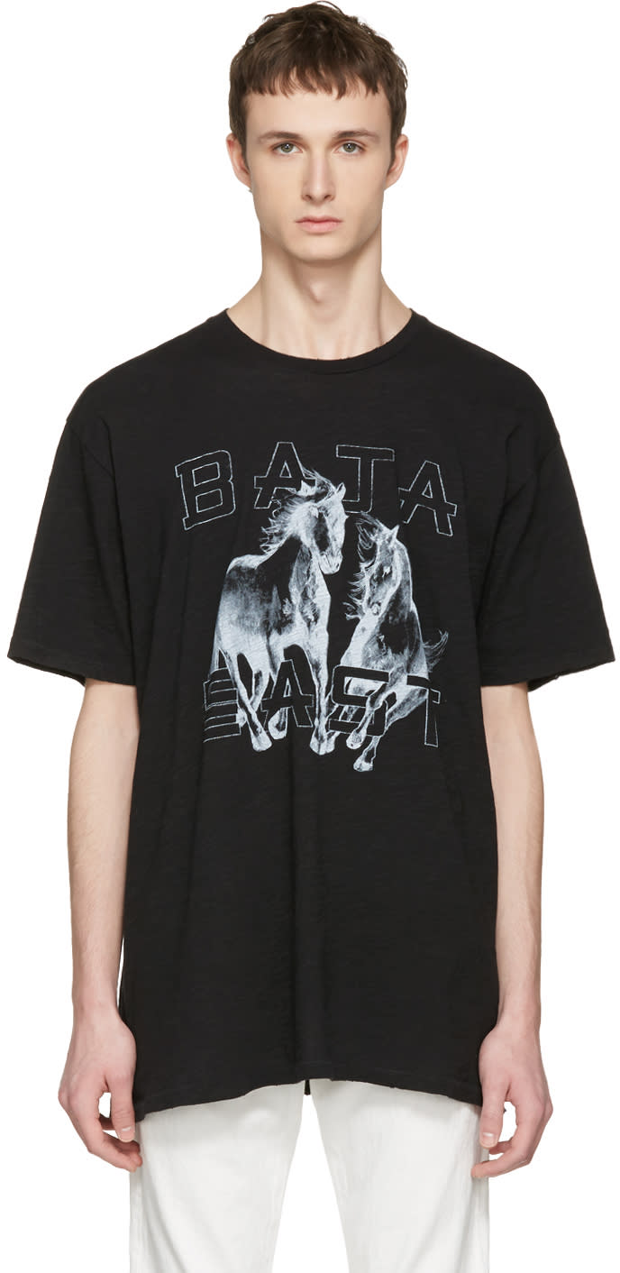 Baja East Black Be T-shirt
