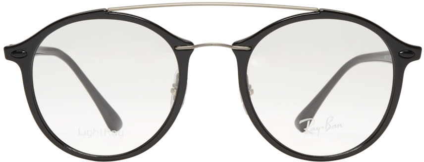 Ray-ban Black Double Bridge Glasses