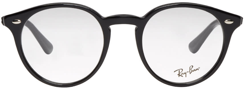 Ray-ban Black Round Optical Glasses