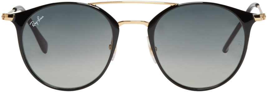 Ray-ban Black Double Bridge Sunglasses