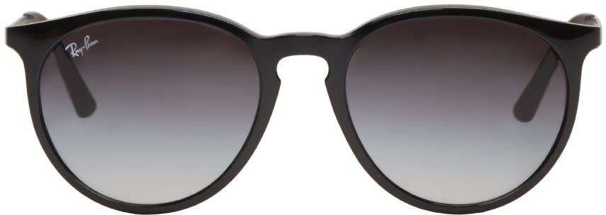 Ray-ban Black Round Sunglasses