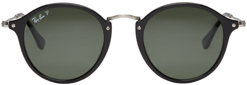 Ray-ban Black Round Sunglasses