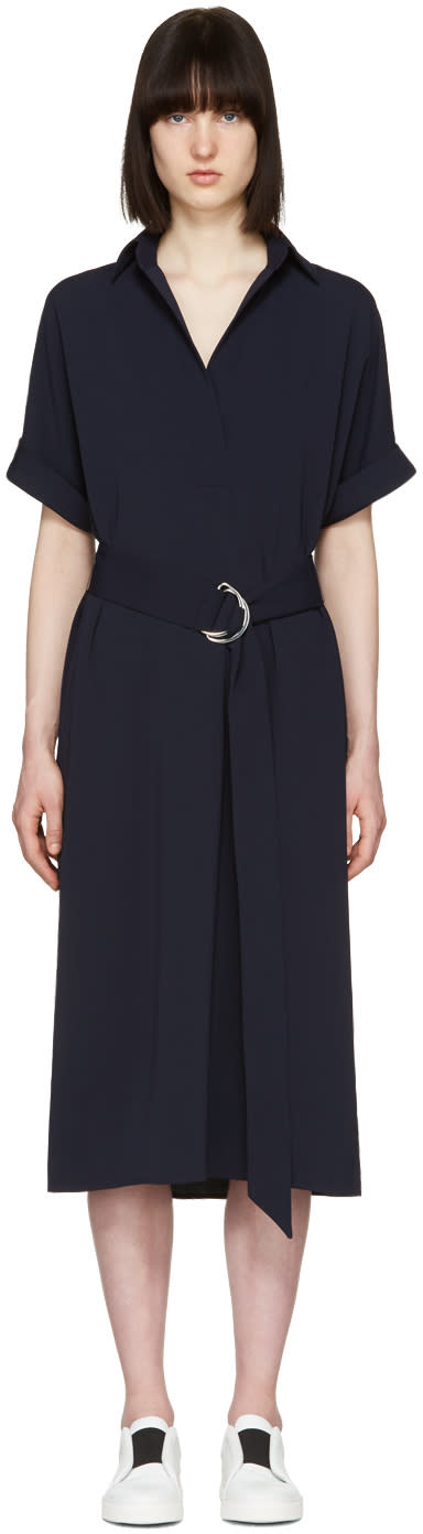 Atea Oceanie Navy Melissa Dress