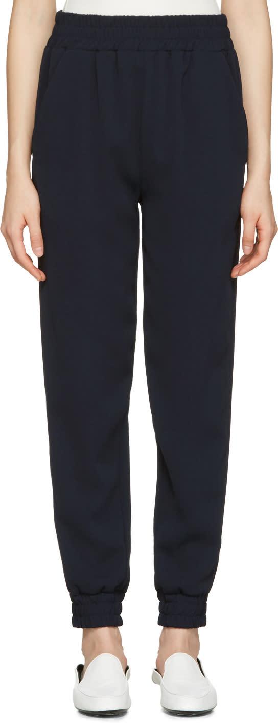 Image of Atea Oceanie Navy Jogger Lounge Pants