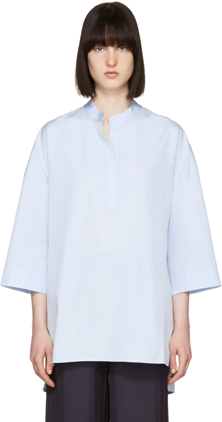 Image of Atea Oceanie Blue Madison Shirt