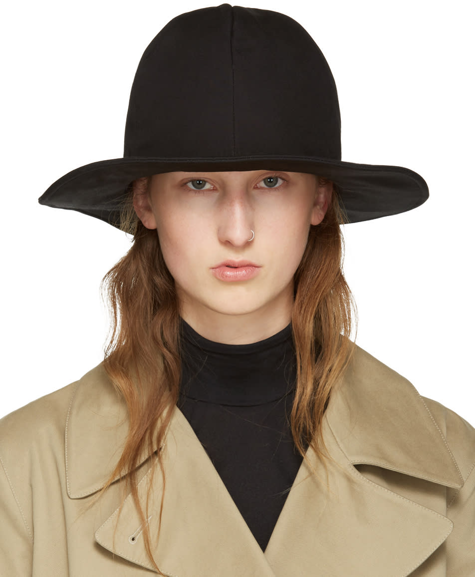Ys Black Noppo Hat