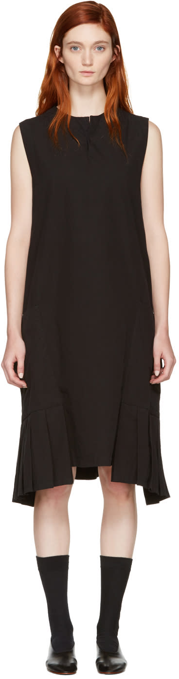 Ys Black Pocket Dress
