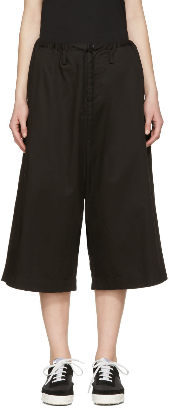 Ys Black Sarouel Trousers