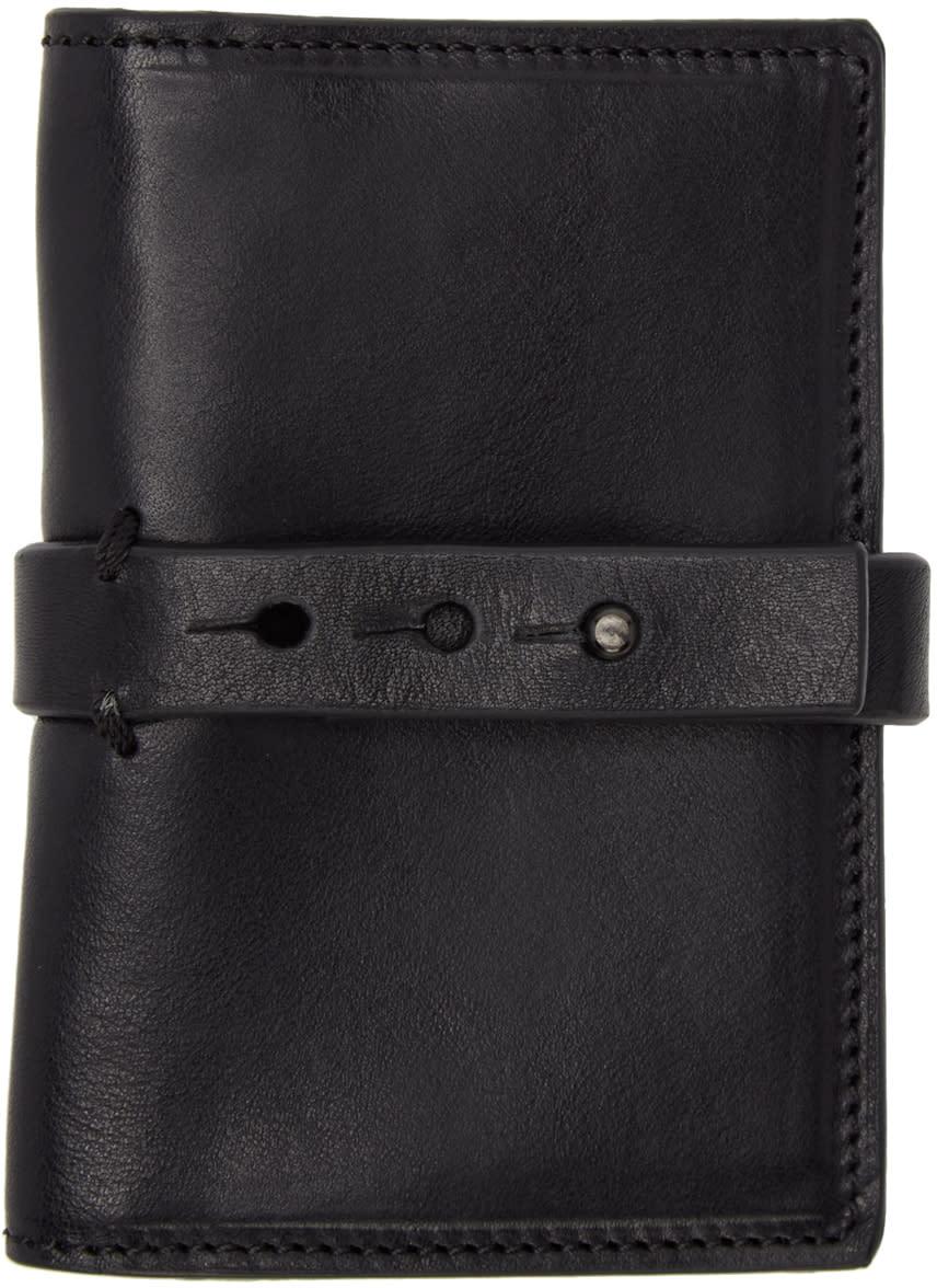 Isabel Benenato Black Leather Wallet