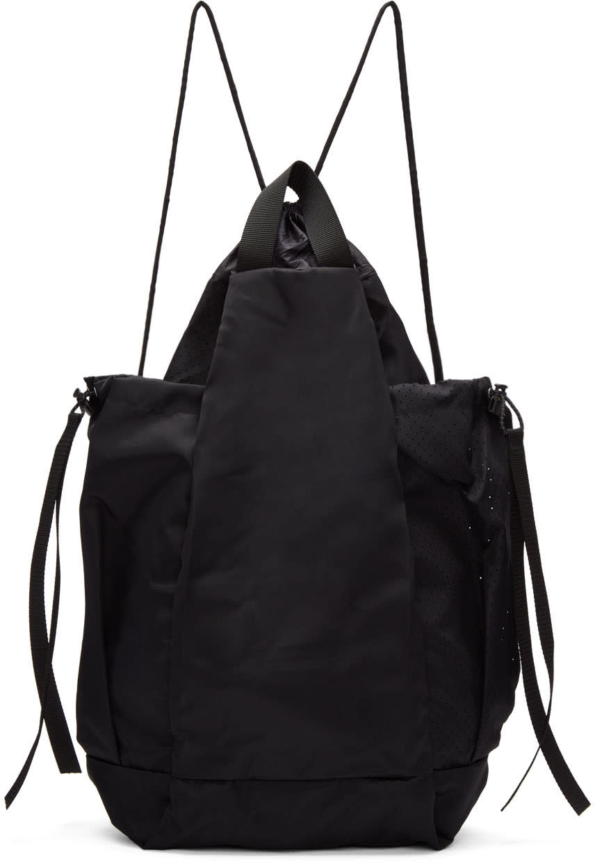 Satisfy Black Bombardier Gym Bag