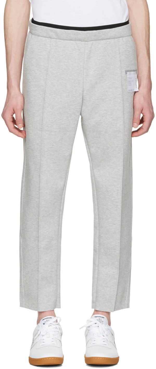 Satisfy Grey Post-run Trousers