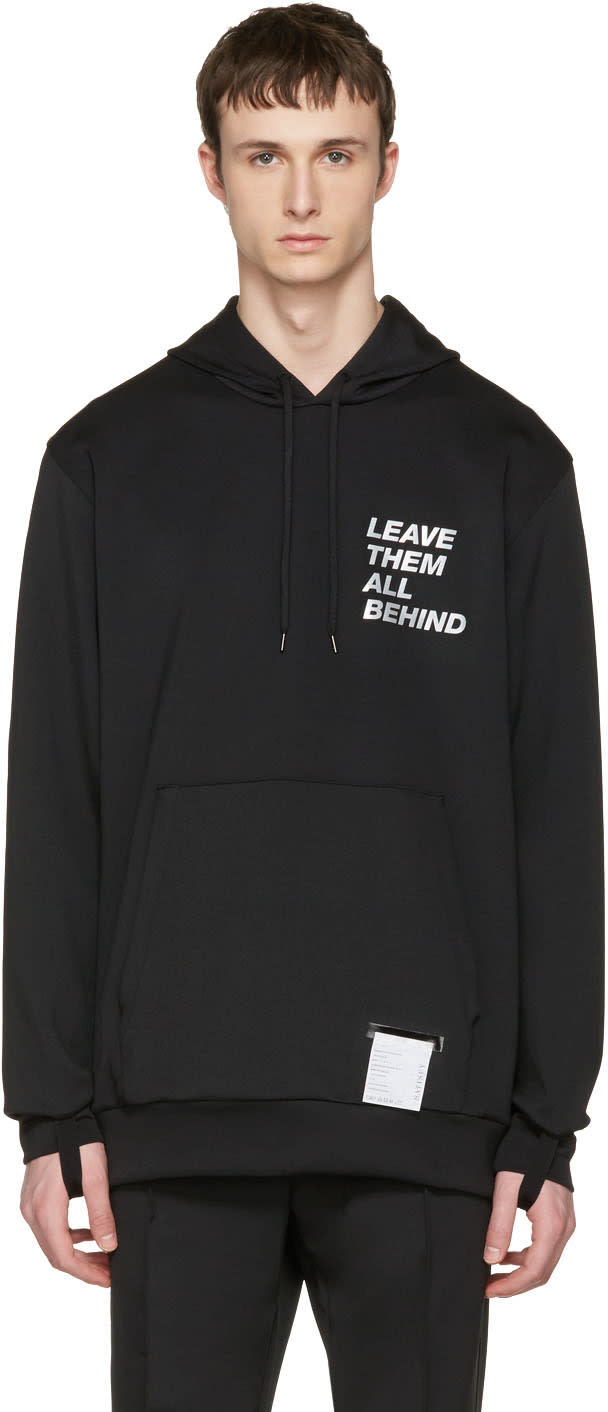 Satisfy Black Post-rub Hoodie