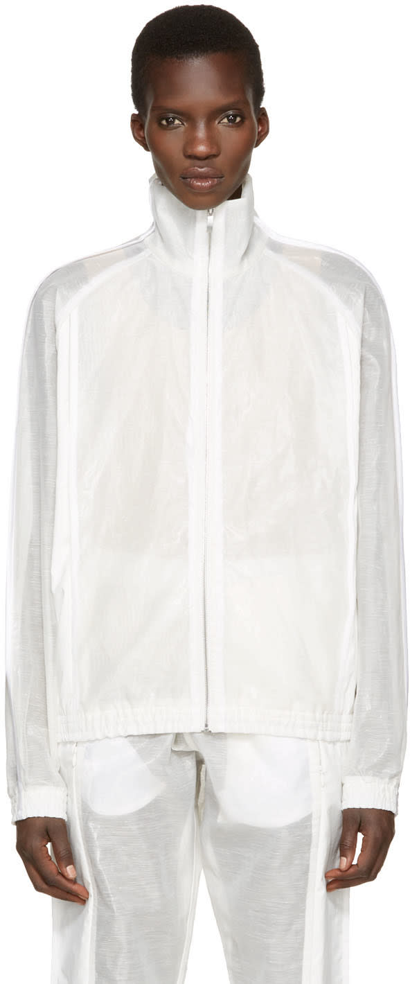Cottweiler White Shade Zip-up Pullover