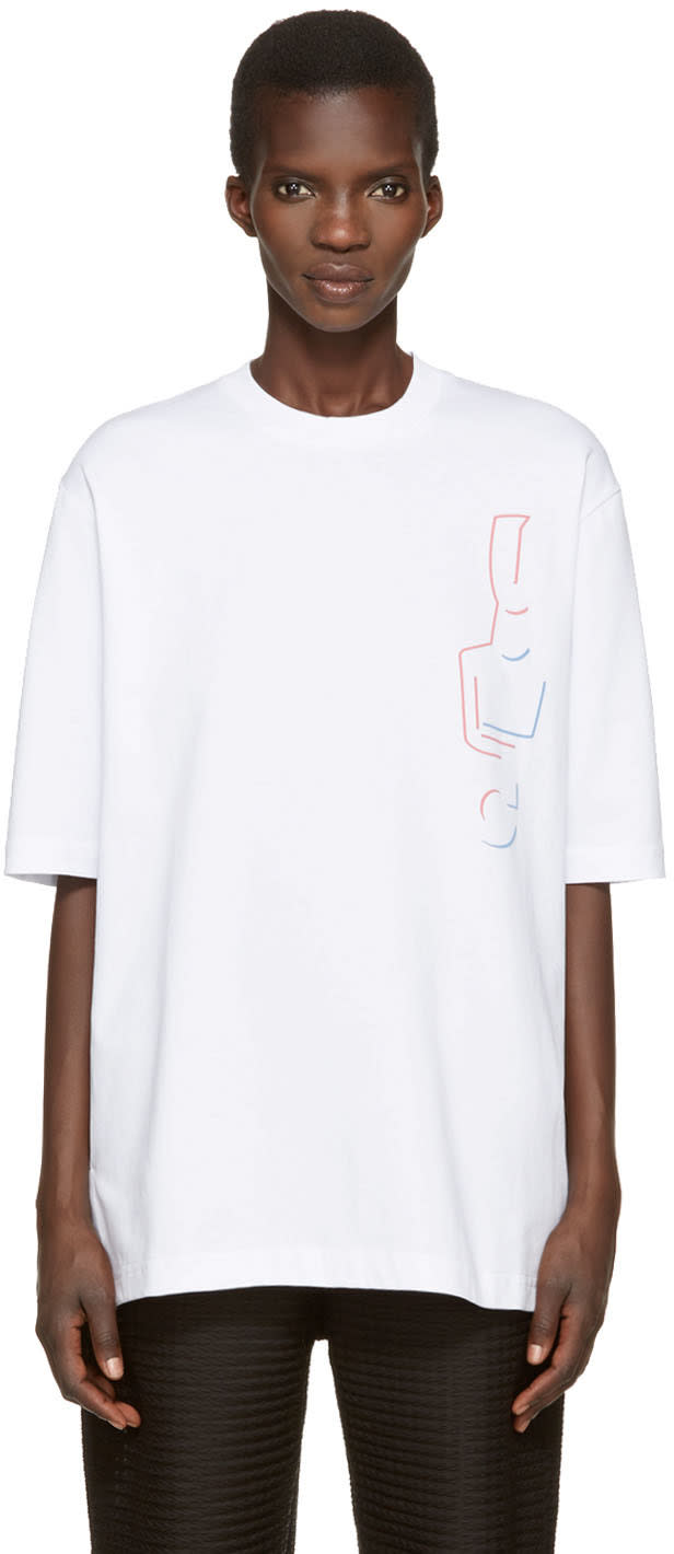 Cottweiler White Instructor T-shirt