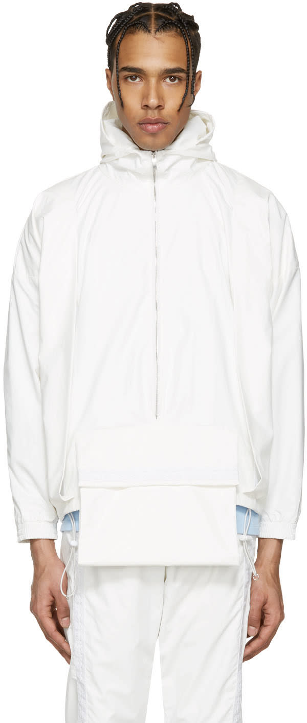 Cottweiler White Hotel Hooded Jacket
