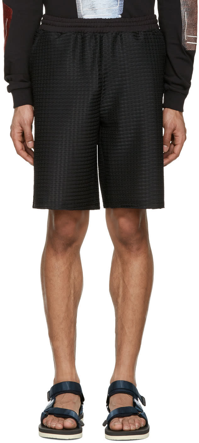 Cottweiler Black Service Shorts