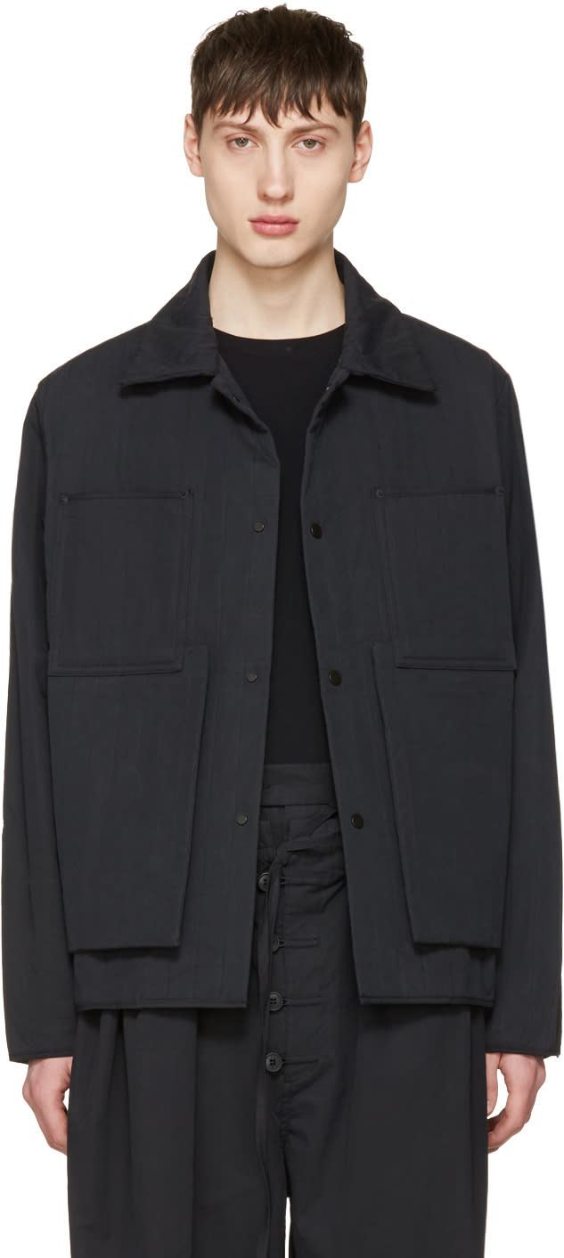 Craig Green Black Quilted Workwear Jacket