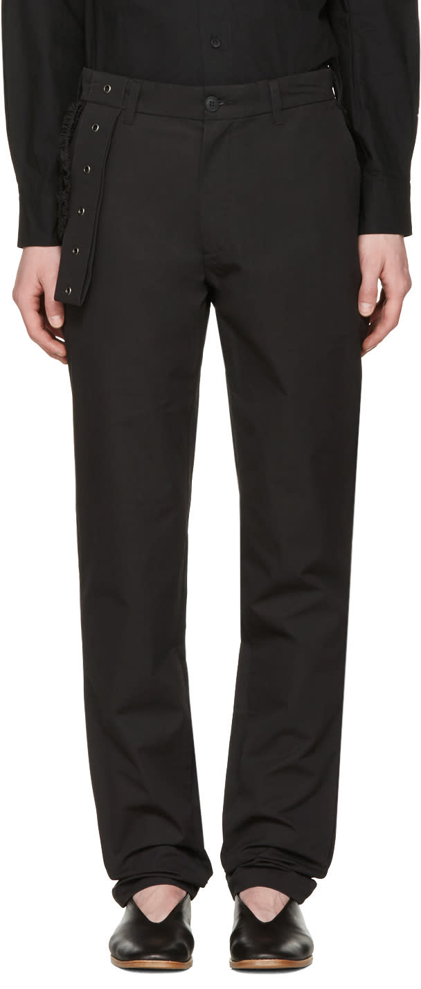Craig Green Black Slim Trousers