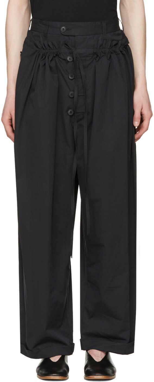 Craig Green Black Tailored Pyjama Trousers