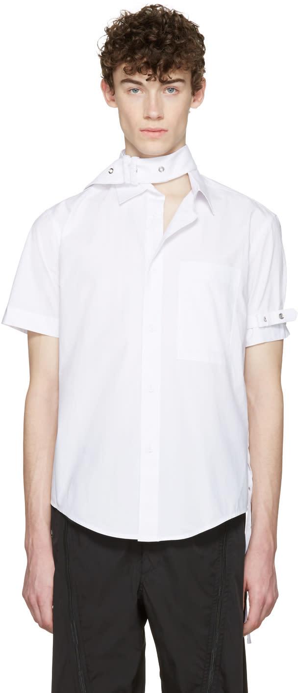 Craig Green White Cotton Short Sleeve Shirt