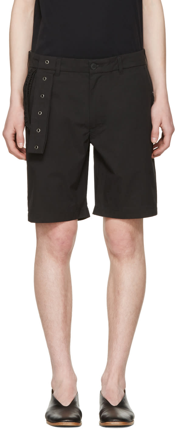 Craig Green Black Slim Shorts