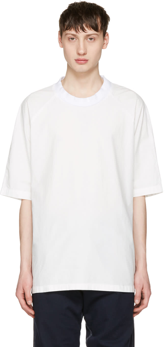 Sunnei White Oversized T-shirt