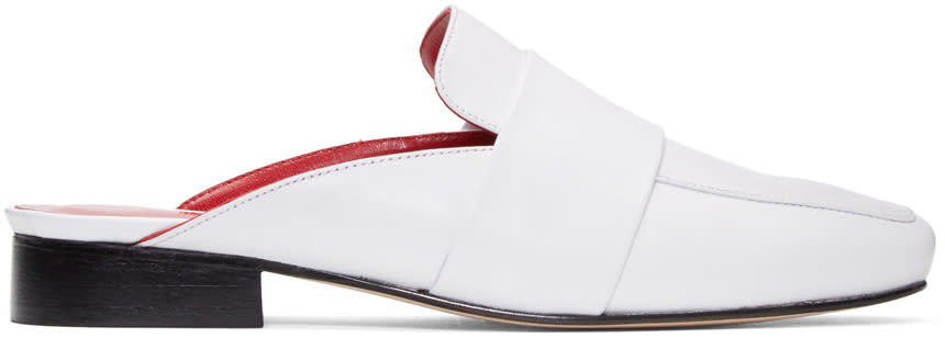 Dorateymur White Filiskiye Loafers
