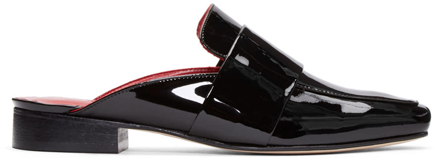 Dorateymur Black Patent Leather Filiskiye Loafers