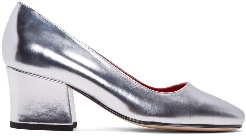 Dorateymur Silver Model T Heels