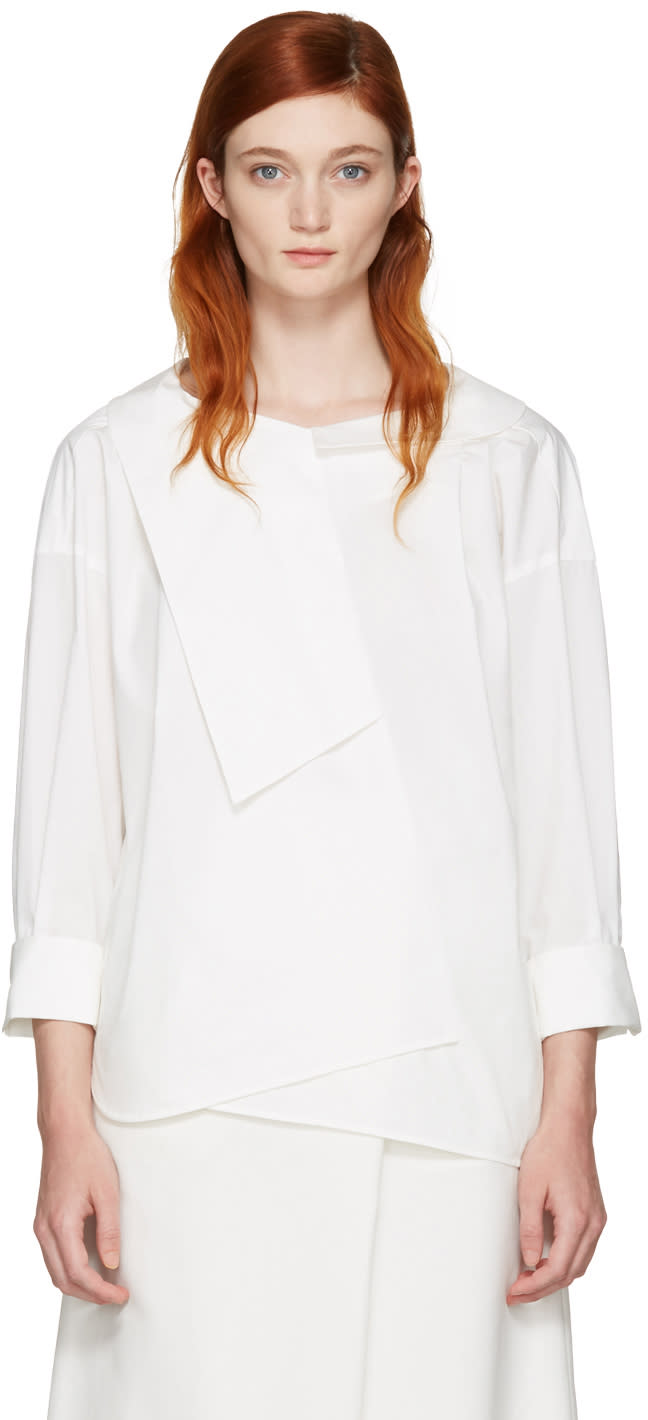 Image of Enfold White Over Blouse