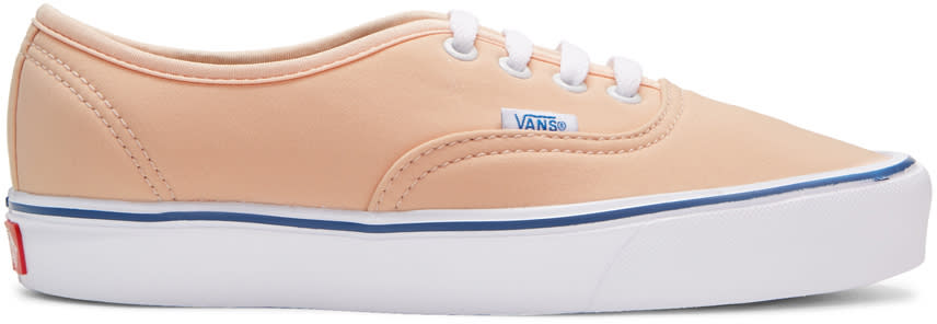 Vans Pink Schoeller Edition Authentic 66 Lite Lx Sneakers